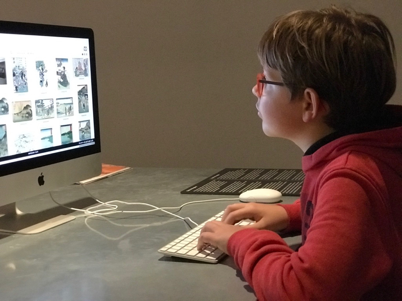 "Das ""digitale Klassenzimmer"" …"